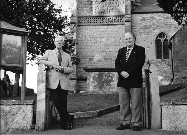 PAUL HARPER & ERNEST TALBOT, Church Wardens, Ernest Talbot (left) has been a Church Warden for over 20 years. Paul Harper has recently joined Ernest as a Church Warden and is also a lay reader.