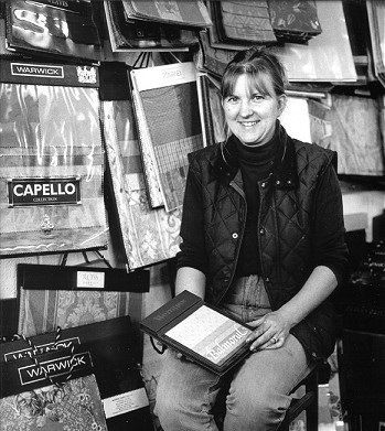 TARA LACEY, Lacey Interiors, One of the most recent businesses to be established in the village, Lacey Interiors, specialising in vehicle and furniture upholstery, was opened in 1998.