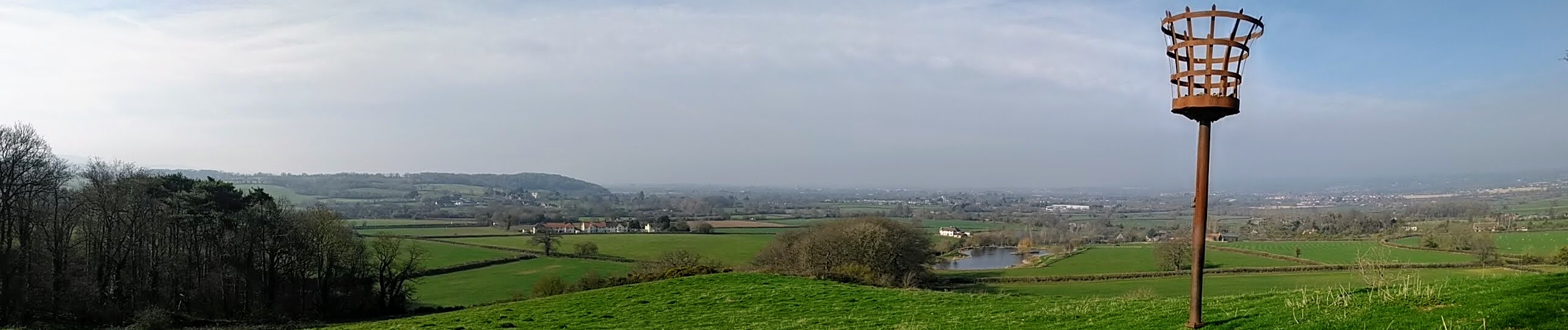 View across parish taken from Thorn Clump